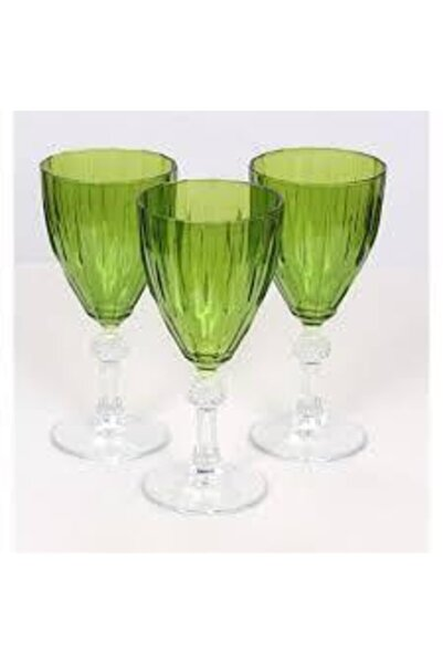 Paşabahçe 44757 Kadeh Yeşil Renkli 190 Cc 3 Adet