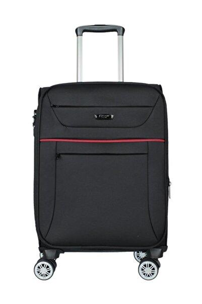 Siyah Unisex Kabin Boy Valiz FS1105-S
