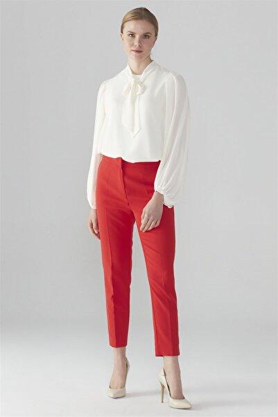 Zühre Kadın Pantolon Kırmızı P-0024