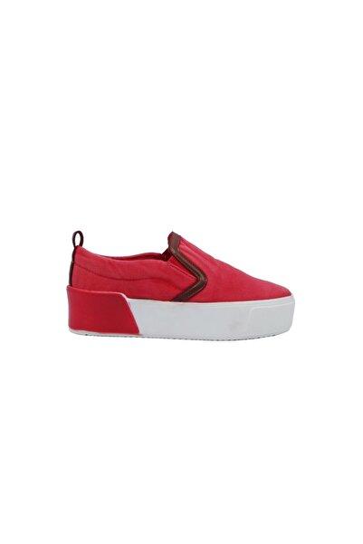 DUNLOP Platform Kırmızı Spor Ayakkabı 505145955-1