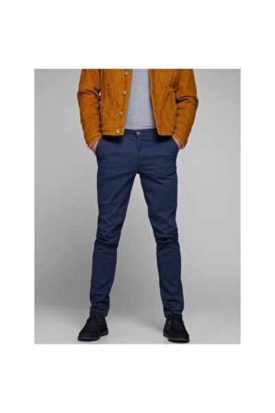 Jack & Jones Jack Jones Marco Chino Lacivert Renk Erkek Pantolon 12150148