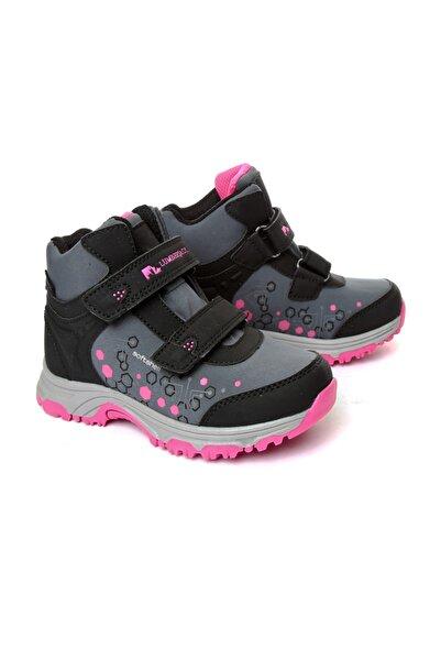 Sıyah/Fusya Çocuk Outdoor Ayakkabı 2LUMK2018011