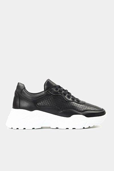 Hotiç Siyah Kadın Spor Ayakkabı