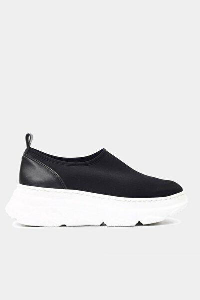 Hotiç Tekstil Siyah Kadın Spor Ayakkabı