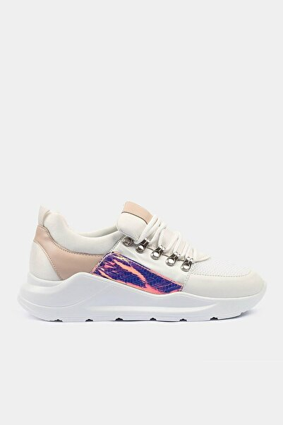 Hotiç Beyaz Kadın Spor Ayakkabı