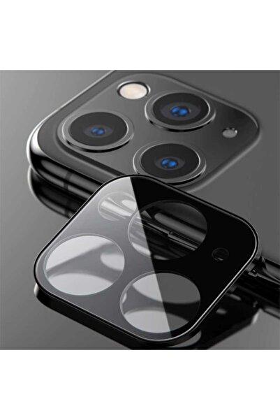 Benks Apple Iphone 11 Pro Max Benks Kamera Lens Koruyucu Komple Kaplama - Siyah