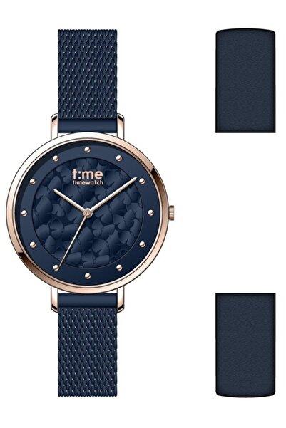 Timewatch Time Watch Tw.129.4 Rll Kadın Kol Saati Deri Kordon Hediyeli