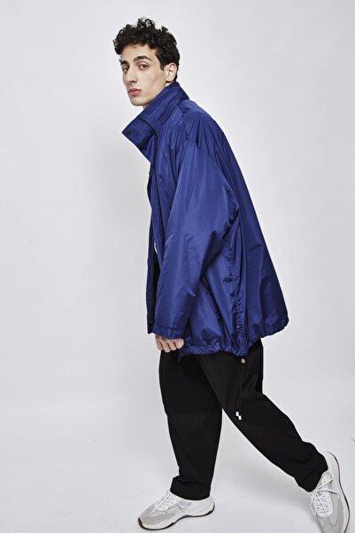 SELEN AKYÜZ Navy Blue Rain Coat