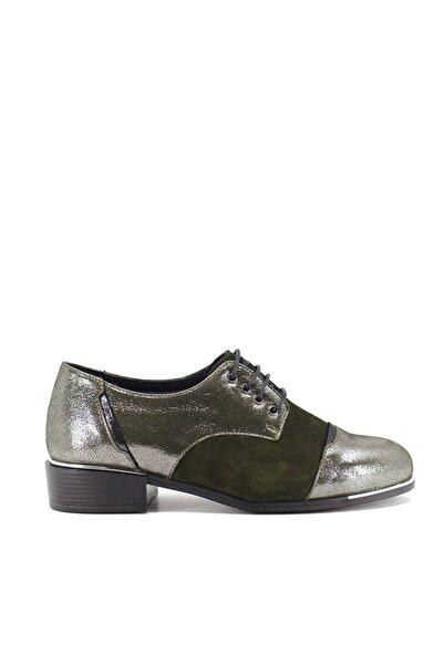 Venüs 9K-1954103 Kadın Deri Günlük Ayakkabı Yeşil