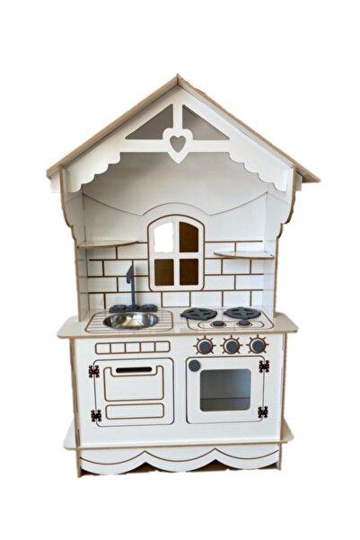 BKM MOBİLYA Zeynebin Beyaz Mutfaği