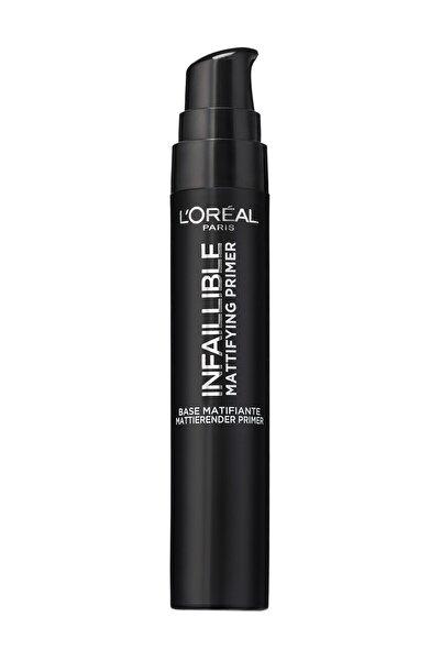 L'Oreal Paris Matlaştırıcı Makyaj Bazı - Infaillible Mattifying Primer 3600523530939