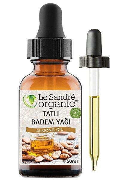 Le'Sandre Organics Badem Yağı Tatlı 50 ml Soğuk Sıkım