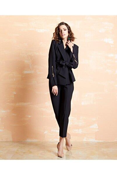 SERPİL Kadın Yüksek Bel Kısa Paça Pantolon