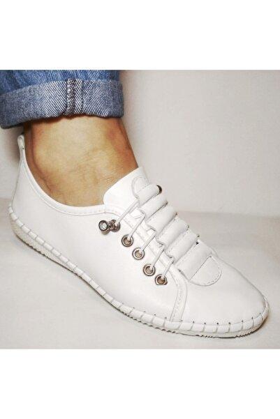 Stella Kadın Seapabuc  Hakiki Deri Ayakkabı