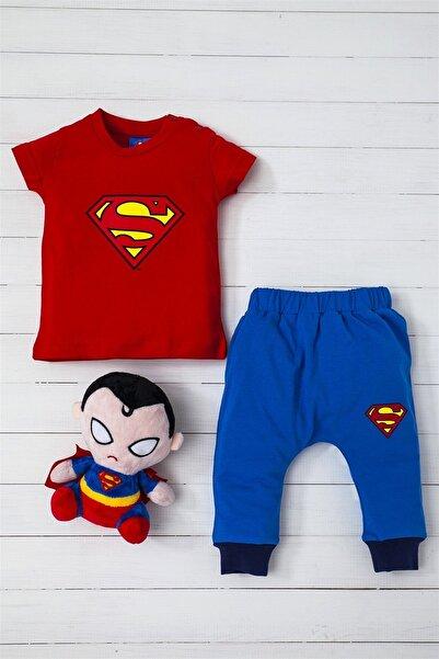 Superman Süperman 2 Li Alt Üst Takım