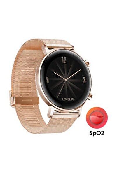 Watch GT2 42mm Elegant Edition Akıllı Saat – Altın ( Huawei Türkiye Garantili )