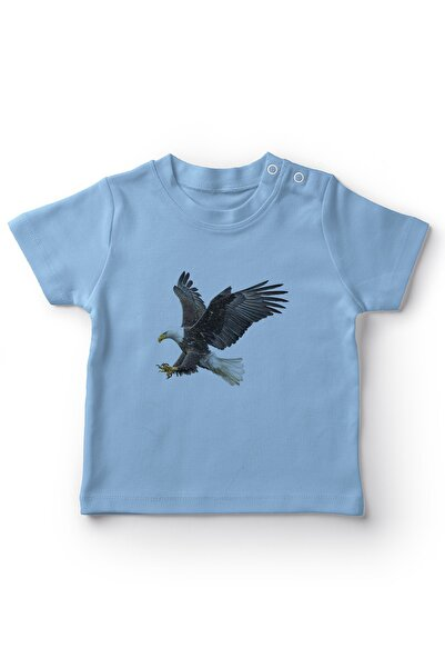 Angemiel Baby Şahin Erkek Bebek Tişört Mavi
