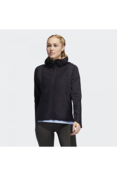 adidas Kadın Siyah Kapşonlu Ceket