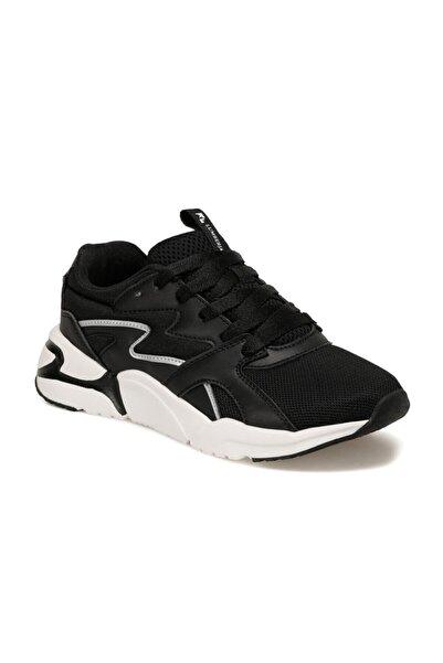 lumberjack Puzzle Siyah Kadın Sneaker Ayakkabı