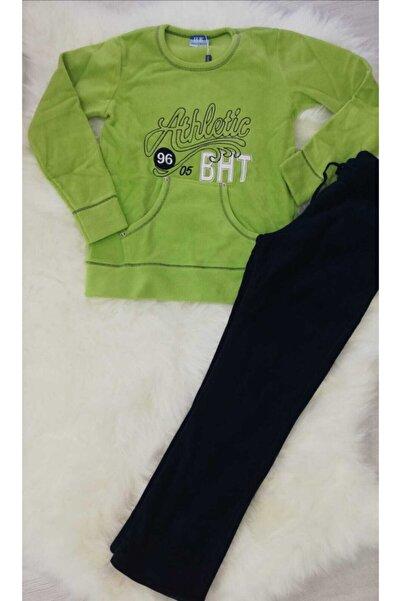 Haluk Bayram Polar Pijama Takımı Yeşil