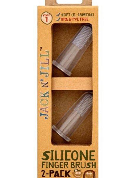 Jack N'Jill Silikon Parmak Fırça 2'li Paket