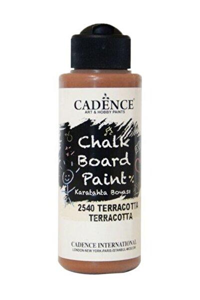 Cadence Chalkboard Paint 120ml Kara Tahta Boyası 2540 Terracotta