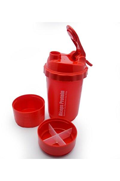 FITNESS Biceps Whey Protein 3 Kademeli Shaker Karıştırıcı