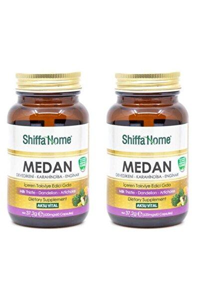 Shiffa Home 2 Adet Medan Devedikeni-Enginar-Hindiba 620 mg-60 Kapsül