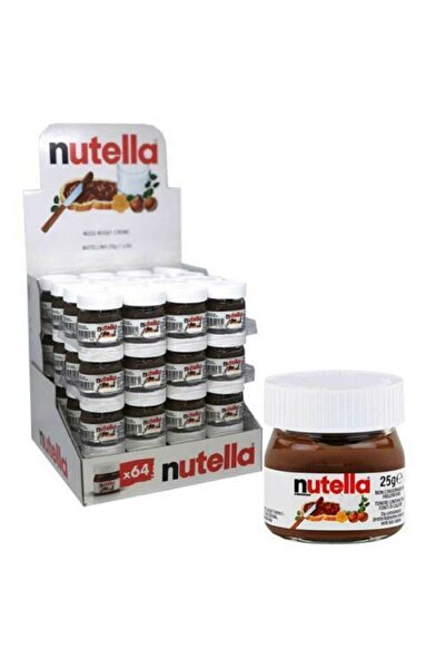 Nutella Mini Cam Kavanoz 25g 32 adet - Ithal