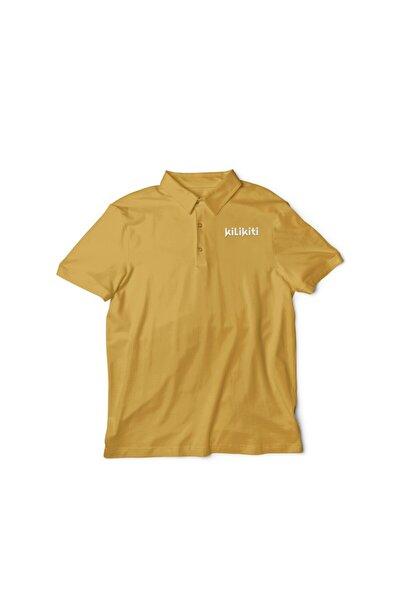 KİLİKİTİ Erkek Çocuk Spor T-shirt Polo Yaka Gold