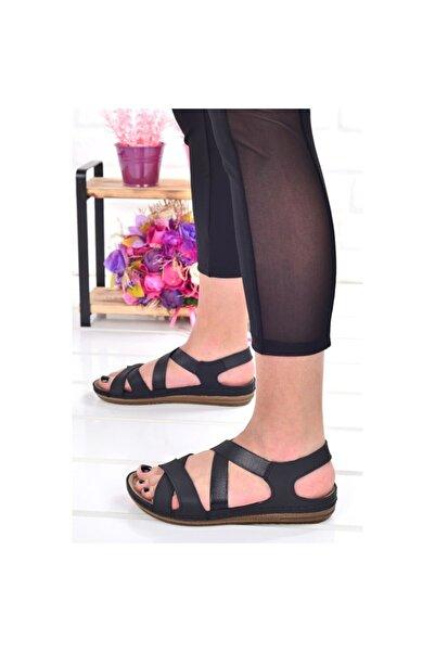 Jump Kadın Ortopedik Lastikli Sandalet 24837