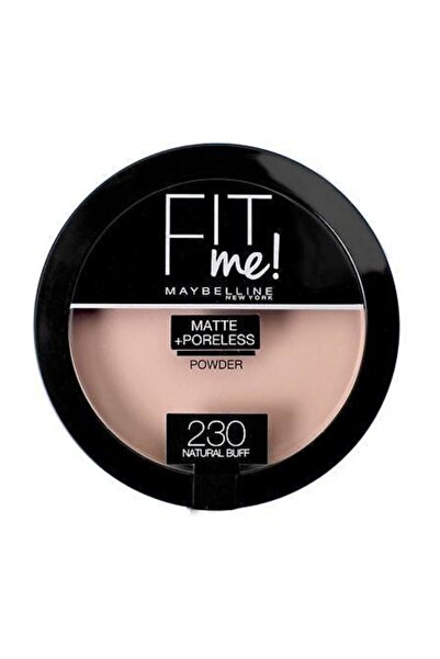 Maybelline New York Fit Me Matte+Poreless Pudra - 230 Natural Buff