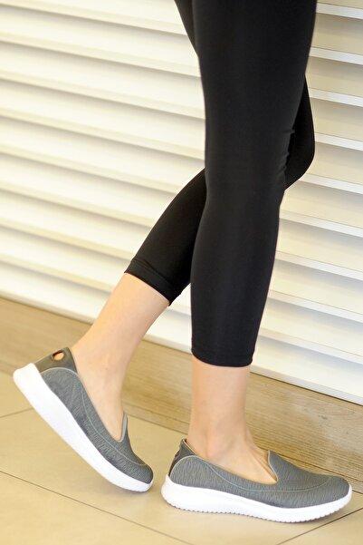 Slazenger Kadın Gri Günlük Ayakkabı