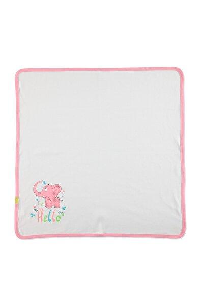 HelloBaby Yaz Bebek Çok Amaçlı İnterlok Battaniye Minik Fil