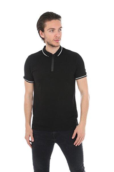 Lenasso Jakarlı Polo Yaka T-shirt Ab-y35055lns