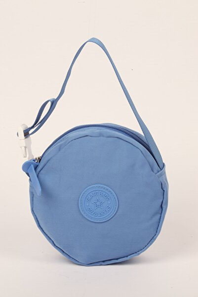SMART BAGS Mavi Takmatik Çapraz El Ve Omuz Çantası