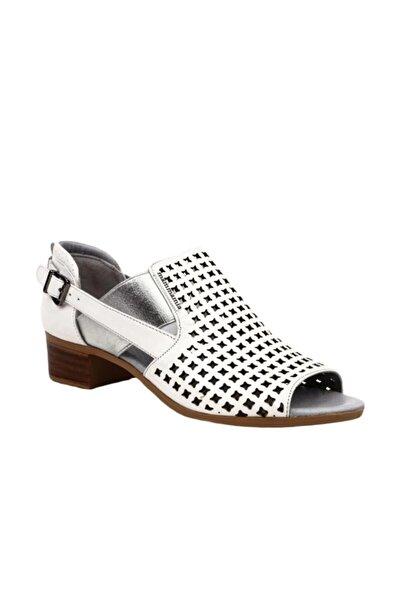 Mammamia D20ya-3345 Kadın Sandalet Beyaz