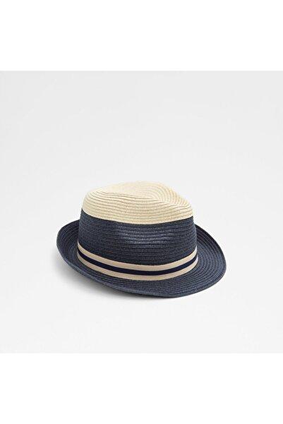 Aldo Kadın Lacivert Hasır Şapka