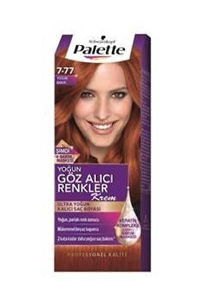 Yoğun göz Alıcı Renkler 7-77 Yoğun Bakır Saç Boyası