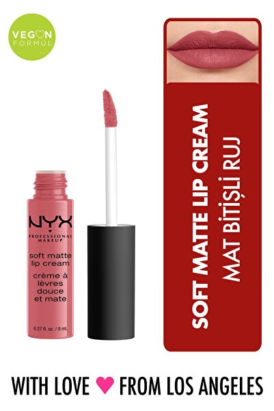 Mat Ruj - Soft Matte Lip Cream Cannes 14 g 800897829971