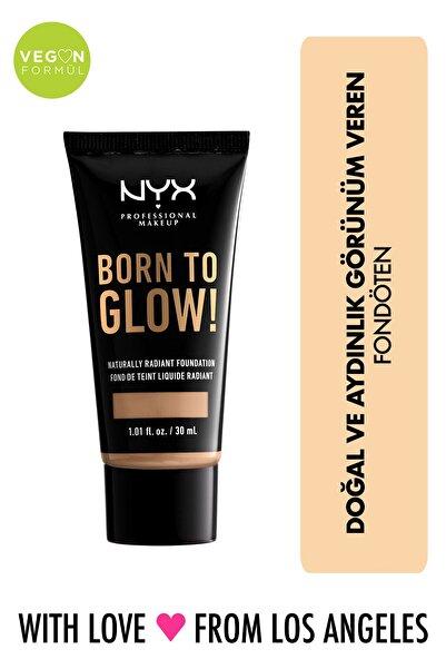 NYX Professional Makeup Fondöten - Born To Glow! Naturally Radiant Foundation 9 Medium Olive 800897190408