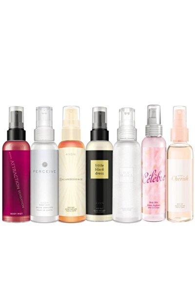 AVON Body Mist Parfümlü Vücut Spreyleri Yedili Paket