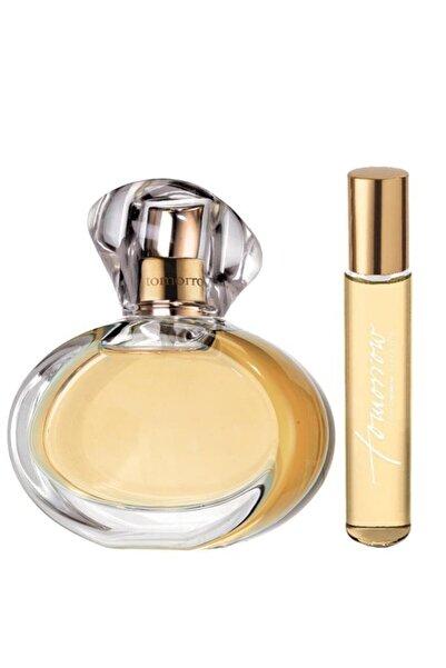 AVON Kadın Tomorrow Parfüm Edp 50 ml +  Tomorrow Kadın Parfüm Edp 10 ml Parfüm Seti