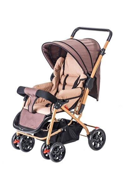 Bc-70 Practico Çift Yönlü Bebek Arabası Gold