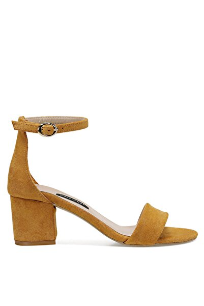 Nine West Badalıa Sarı Kadın Sandalet