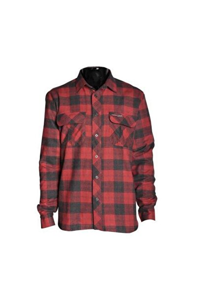 Freecamp Erkek Kırmızı Knit Man Fleece Shirt Gömlek