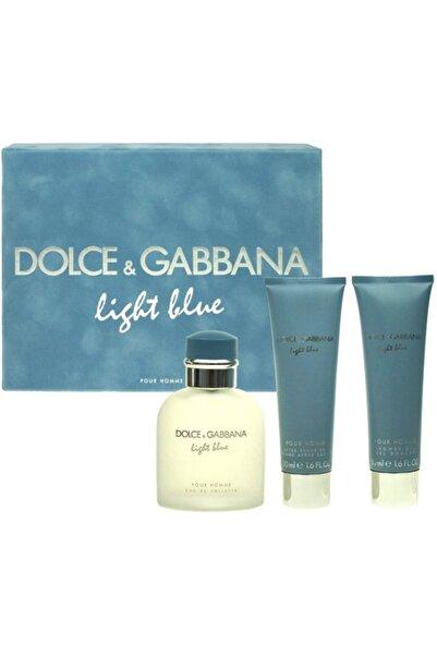 Dolce Gabbana Lıght Blue Edt 75ml+50ml Shower Gel+50ml After Shave 737052226163