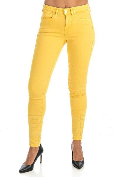 Guess Kadın Sarı Pantolon W93A03W7YE5