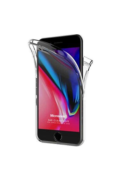 Microsonic Apple Iphone Se 2020 Kılıf 6 Tarafı Tam Full Koruma 360 Clear Soft Şeffaf