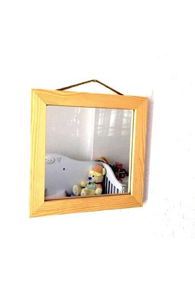 Emek Dekoratif Ayna Naturel 30x30 cm